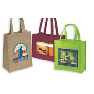 4-Color Process Tote Bag w/28