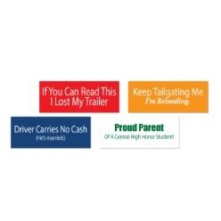 Custom Shape Decals / Labels / Bumper Stickers - Individual - Sheets - Rolled
